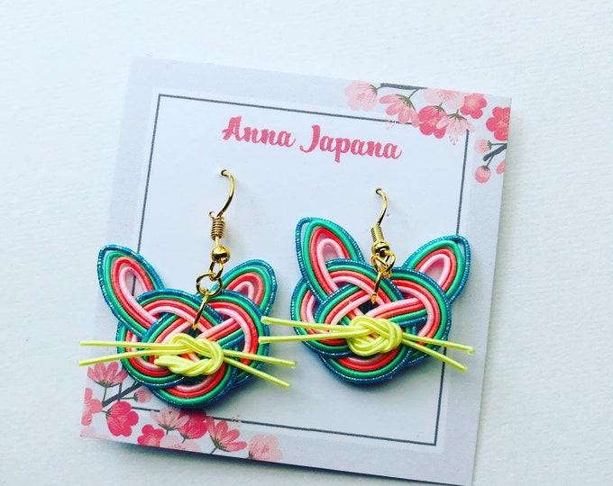 Cat earrings Kawaii