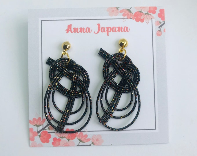 Awaji knot < black rainbow >