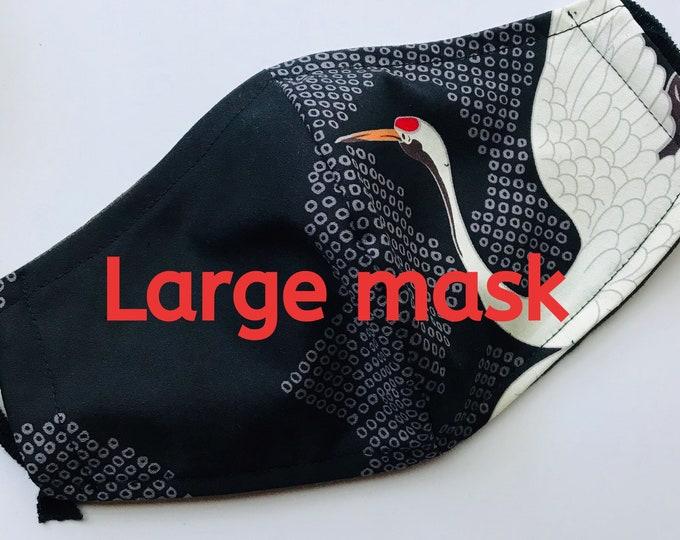 LARGE crane mask