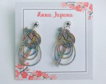 Awaji knot < white rainbow >