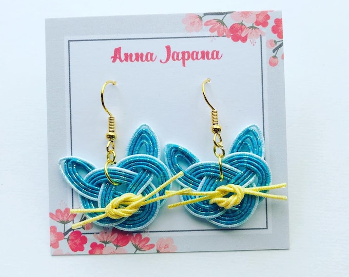 Featured listing image: Blue cats earrings
