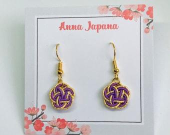 Plum flower (S) purple x gold