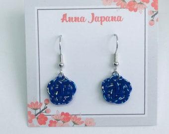 Plum flower (S) blue