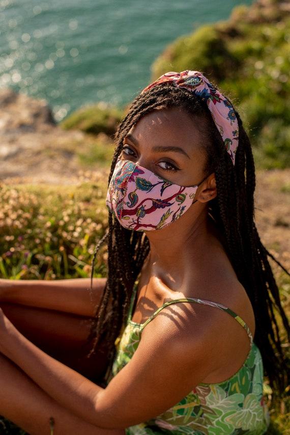 CARRIE OSBORNE | Eden Silk Face Mask