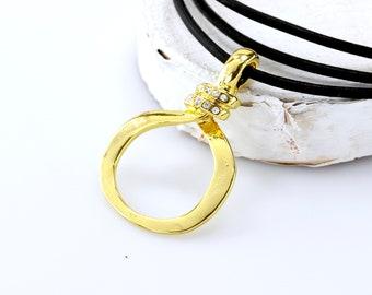 Gold Eyeglass Loop Necklace, Gold Lanyard, Eyeglass Chain, Eyeglass Necklace, Eyeglass Holder Necklace, Gold Glasses Chain, glasses holder