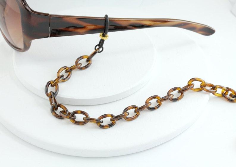 Eyeglass Tortoise Necklace Accessories Eyewear Chain ChainEyeglasses Shell SVMpUz