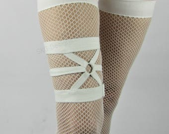 Xirena adjustable thigh garter