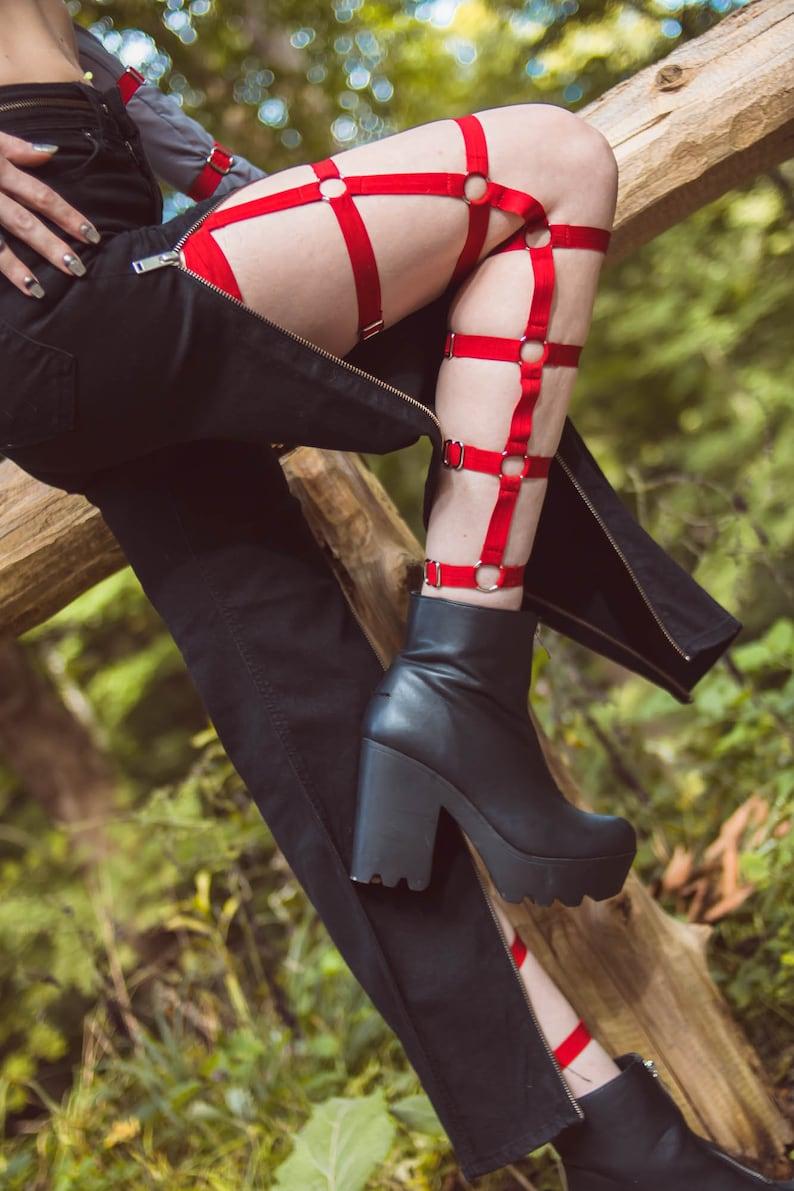 361de174f8 Gladys adjustable full length unisex leg harness