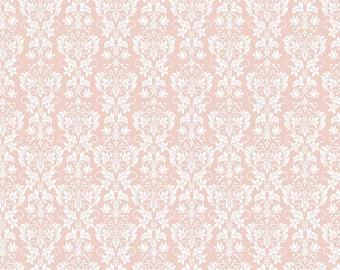 Rustic Damask Peach by Riley Blake - Rustic Elegance Collection by Carta Bella