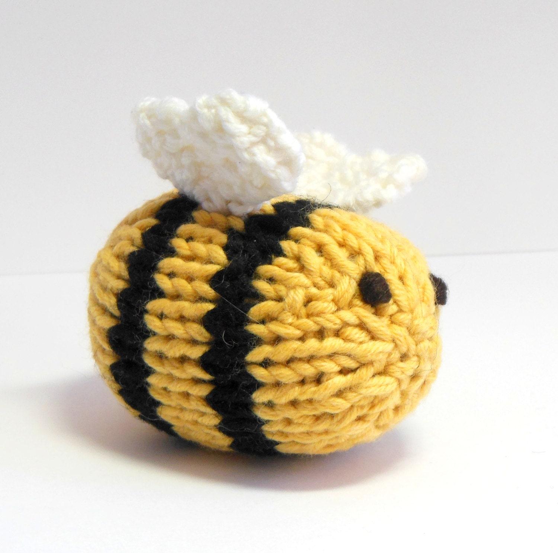 Gefüllte Spielzeug gefüllte Biene Bumble Bee stricken