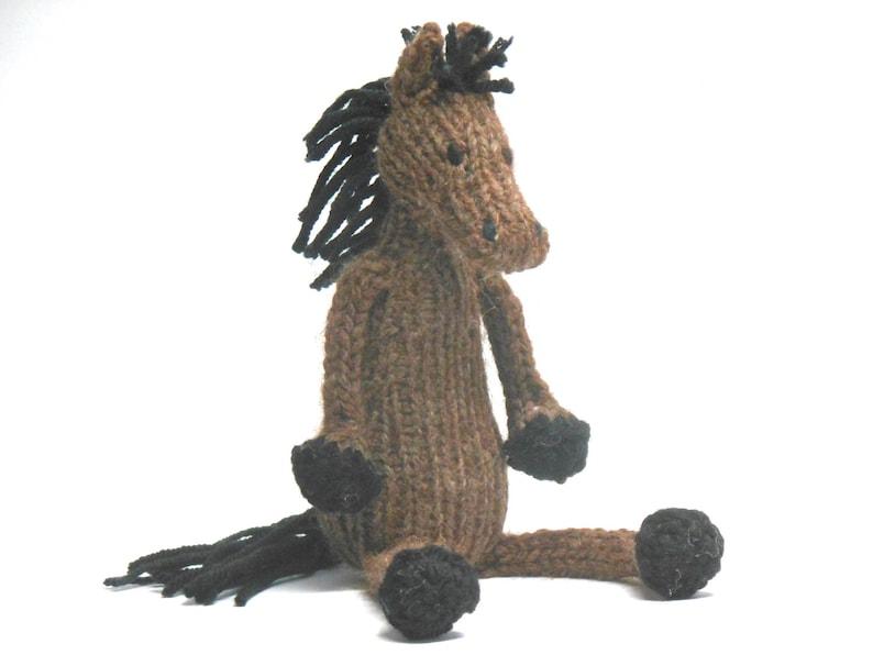 Pferd Stofftier Spielzeug braunes Pferd Pferd Kinderzimmer | Etsy