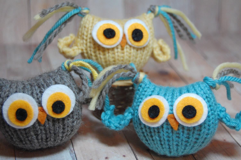 Knitting Pattern Owls - Tufty Owl Amigurumi - Waldorf Bird Toy PDF ...