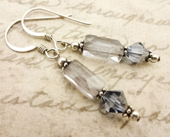 Iolite Gemstone Earrings