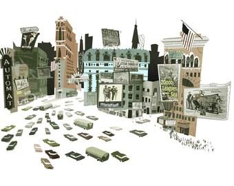 Times Square Circa 1950