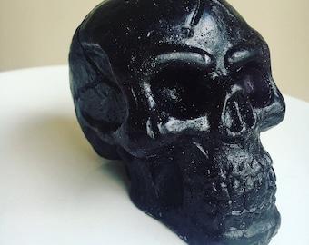 Black Skull Soap