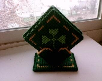 St Patrick's Day Pedestal Coasters
