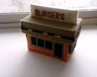 Burger Shop Play Set