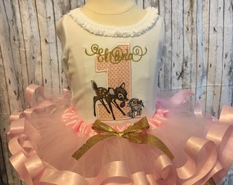 01100853c7d Bambi and Thumper tutu outfit