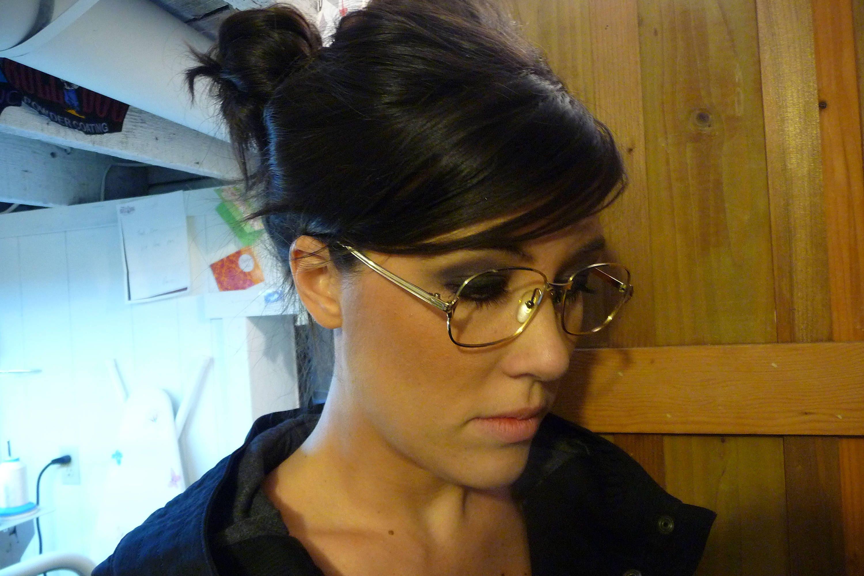 Vintage Gold Eyeglasses Morel France 14k Eyeglasse Frames Etsy