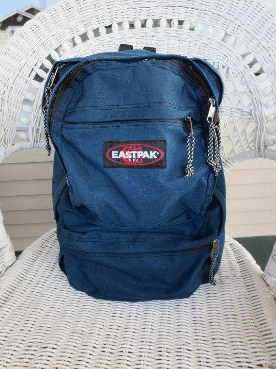 Vintage Backpack EASTPAK USA Padded Back Backpack Vintage