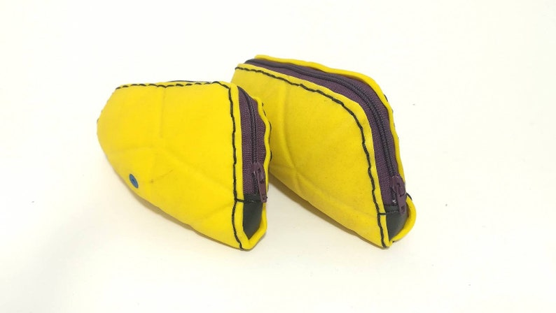 summer purse soccer gift Yellow purse from upcycled football football gadget waterproof beach purse football lover gift