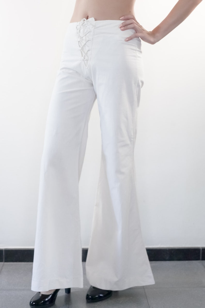Vintage 70s Trousers Bell Bottoms