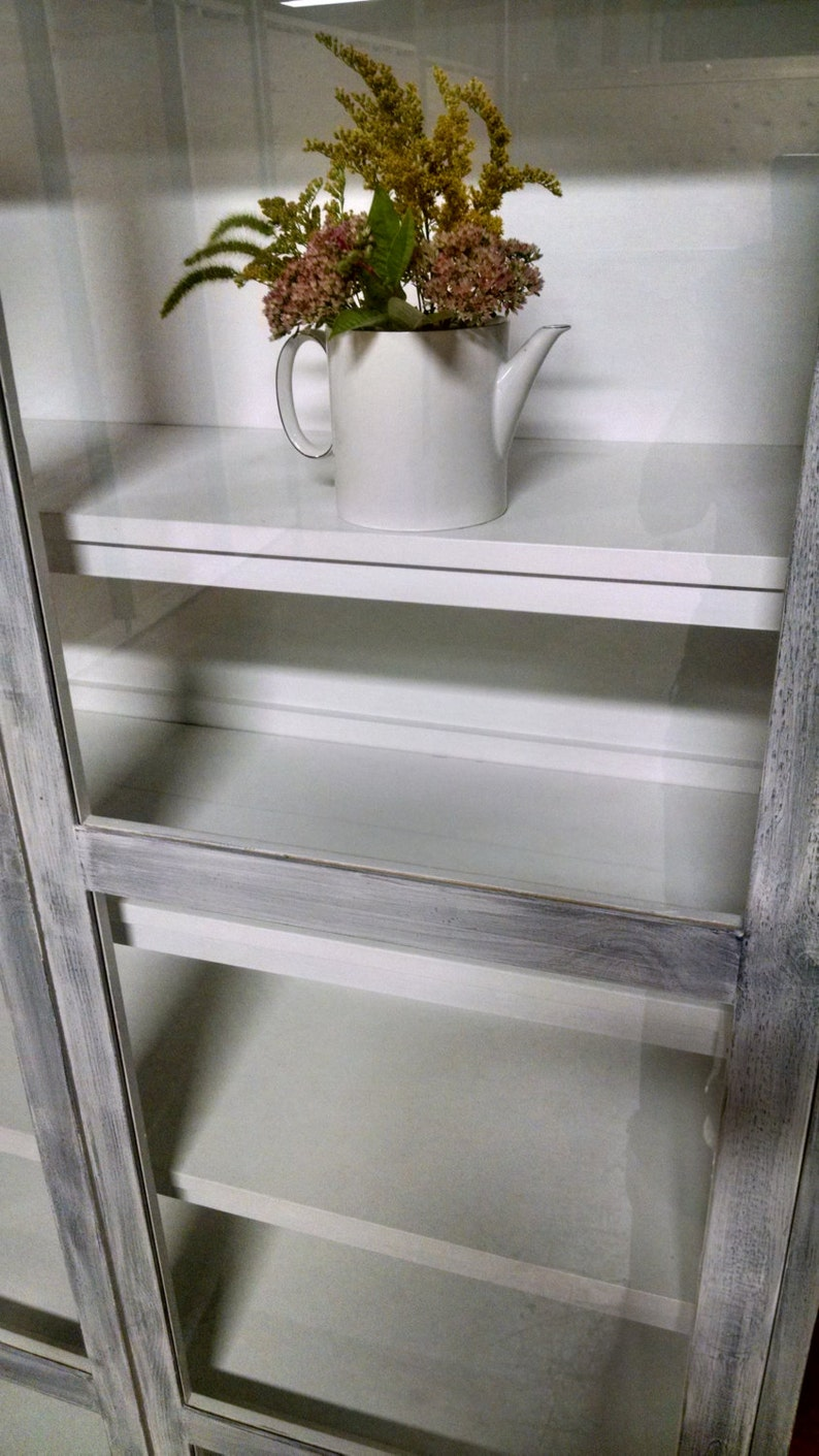 Custom Cabinet for Kitchen Storage or Display Hutch ...
