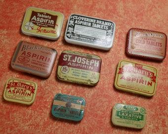 1 Vintage Medicine Tin