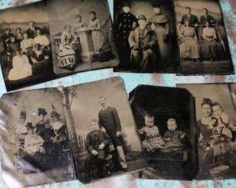 1 Antique Tintype Photo