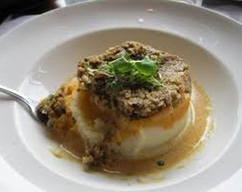 Traditional Scottish Haggis Neeps and Tatties with Whiskey Sauce Recipe