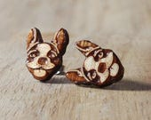Wood Boston Terrier studs...