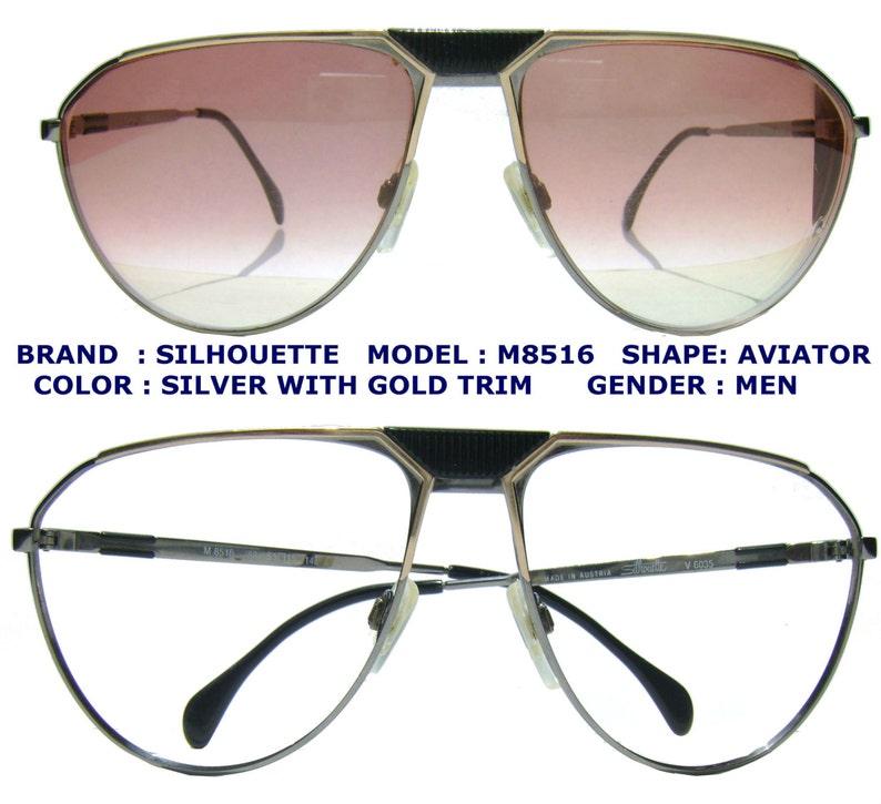 80a8741415 VINTAGE SILHOUETTE SUNGLASSEsilhouette sun glasses