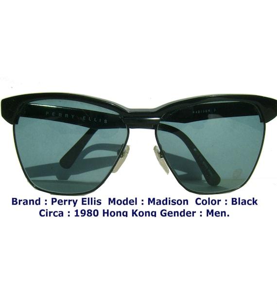 perry ellis sun glasses / black sun glasses / men