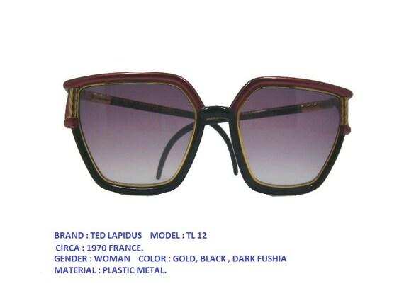 TED LAPIDUS EYEWEAR / ted lapidus vintage eywear /