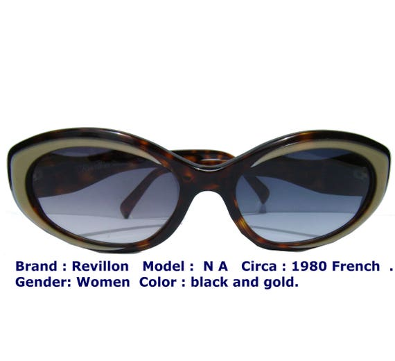revillon french eyewear/ french sun glasses / wom… - image 1