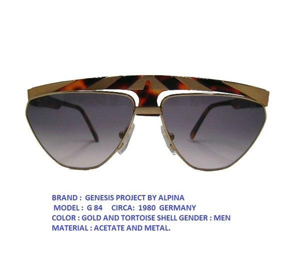 ALPINA G84 SUNGLASSES /alpina vintage eyewear / al