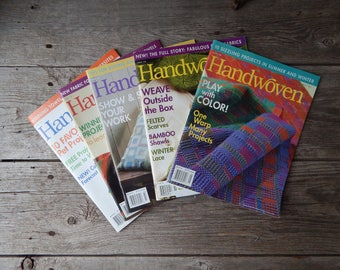 Back Issues of Handwoven Magazine 2006 Please Choose Issue from the drop down menu