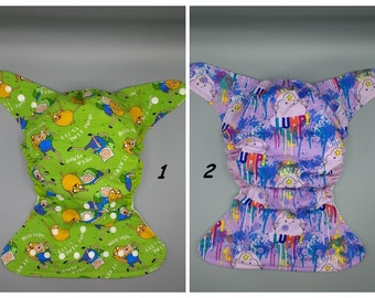 Diapering Kind-Hearted Cloth Diaper From Etsy Size Xs Cloth Diapers