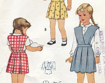 Sz 4-1945 Child's Dress McCall 6304 Breast 23