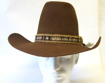 c220585eeab7f Resistol Stagecoach Cowboy Hat Camel Brown 6 7 8 Self Conforming High Brehm