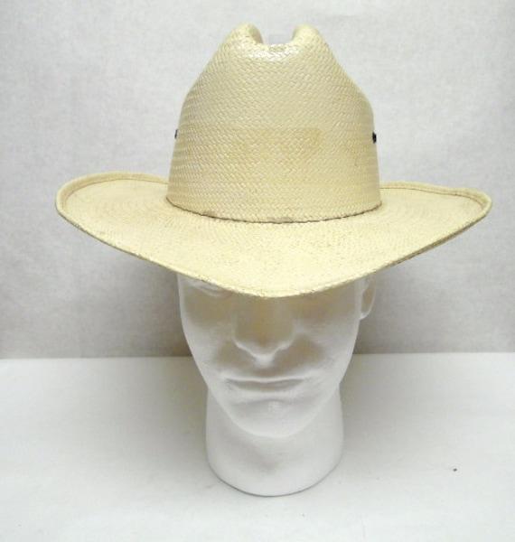 Straw Cowboy Hat Wide Brimmed Hat Sun Western Natu