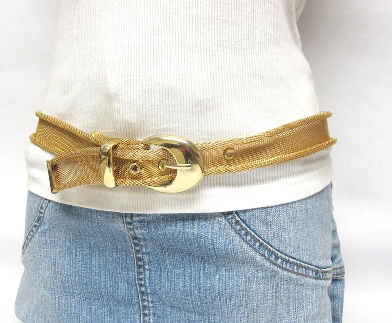 Gold Belt Mesh Metal B4