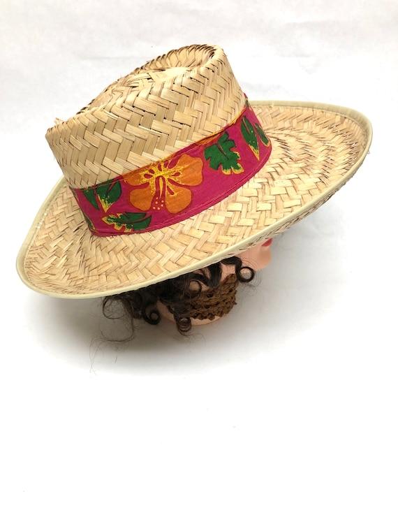 Straw Hat Wide Brimmed Sun Gardening
