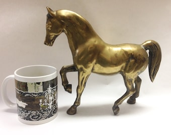 Norleans Solid Brass Horse