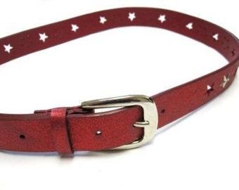 Red Belt Size Med Large