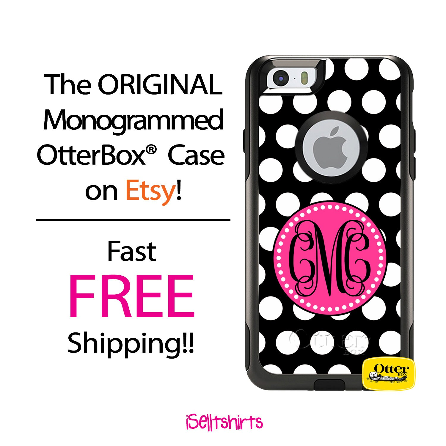 Iphone Otterbox Commuter Case For Iphone X 8 8 Plus 7 7 Etsy