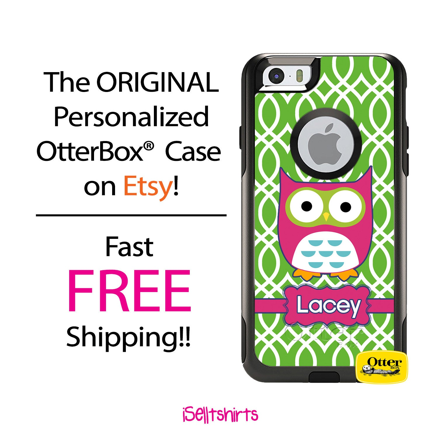Custom Iphone Otterbox Commuter Case For Iphone X 8 8 Plus Etsy