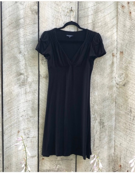 Vintage Betsey Johnson black dress, M