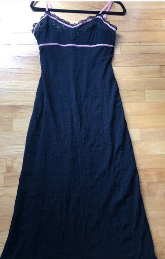 Vintage Betsey Johnson slipdress, L