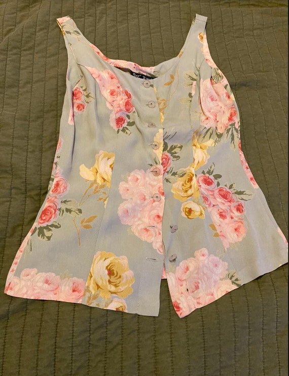 Vintage 90's Betsey Johnson top, S